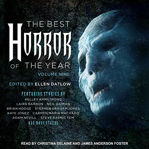 Couverture de The Best Horror of the Year, Volume Nine
