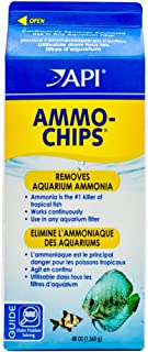 API AMMO-CHIPS Filtration media, Removes toxic aquarium ammonia which is the #1 killer of tropical fish