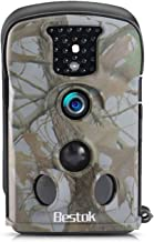 Trail Game Camera 12MP 2.4 LCD Screen PIR 65 ft/20m Full HD with Waterproof IP65 Wildlife Deer Game Hunting Cam with Night Vision Motion Activated for Wildlife Watching