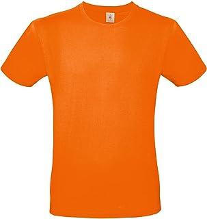 ade622a51bf0 Pacchetto 10 T-Shirt Uomo Magliette da Lavoro Cotone B&C E150 Prezzo Stock