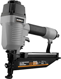 "NuMax SFN64 Pneumatic 16-Gauge 2-1/2"" Straight Finish Nailer Ergonomic and.."