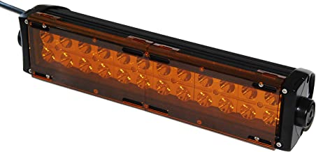 Amber Bar Cover OZ-USA LED light dual row 36w 72w 180w 288w 9