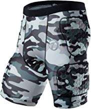 TZTED Pantalones Cortos Protección Acolchados Protector de Almohadilla de Cadera Muslo Cóccix para Patinaje Esquí Snowboard Ciclismo Nieve Niños Adulto