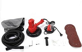 comprar comparacion DiLiBee Lijadora de yeso 1280W Lijadora de yeso Lijadora de cuello largo Amoladora de techo con succión + accesorios Ø180mm