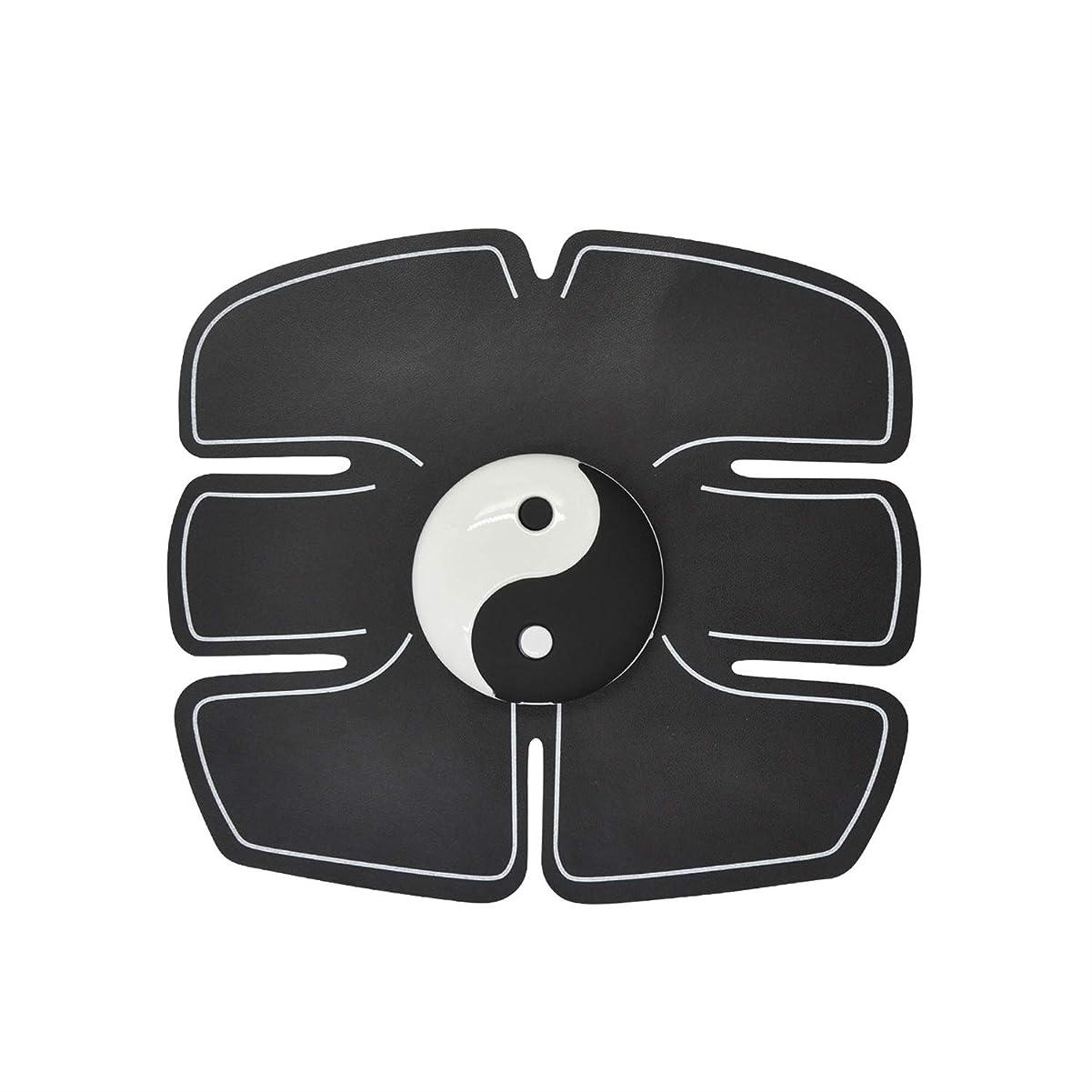 つかむ息切れ加入Ems筋肉刺激装置、腹部筋肉トナー腹筋トレーナーフィットネストレーニングギアabsフィット重量筋肉トレーニング調色ジムトレーニングマシン用男性&女性 (Size : Abdominal stickers)