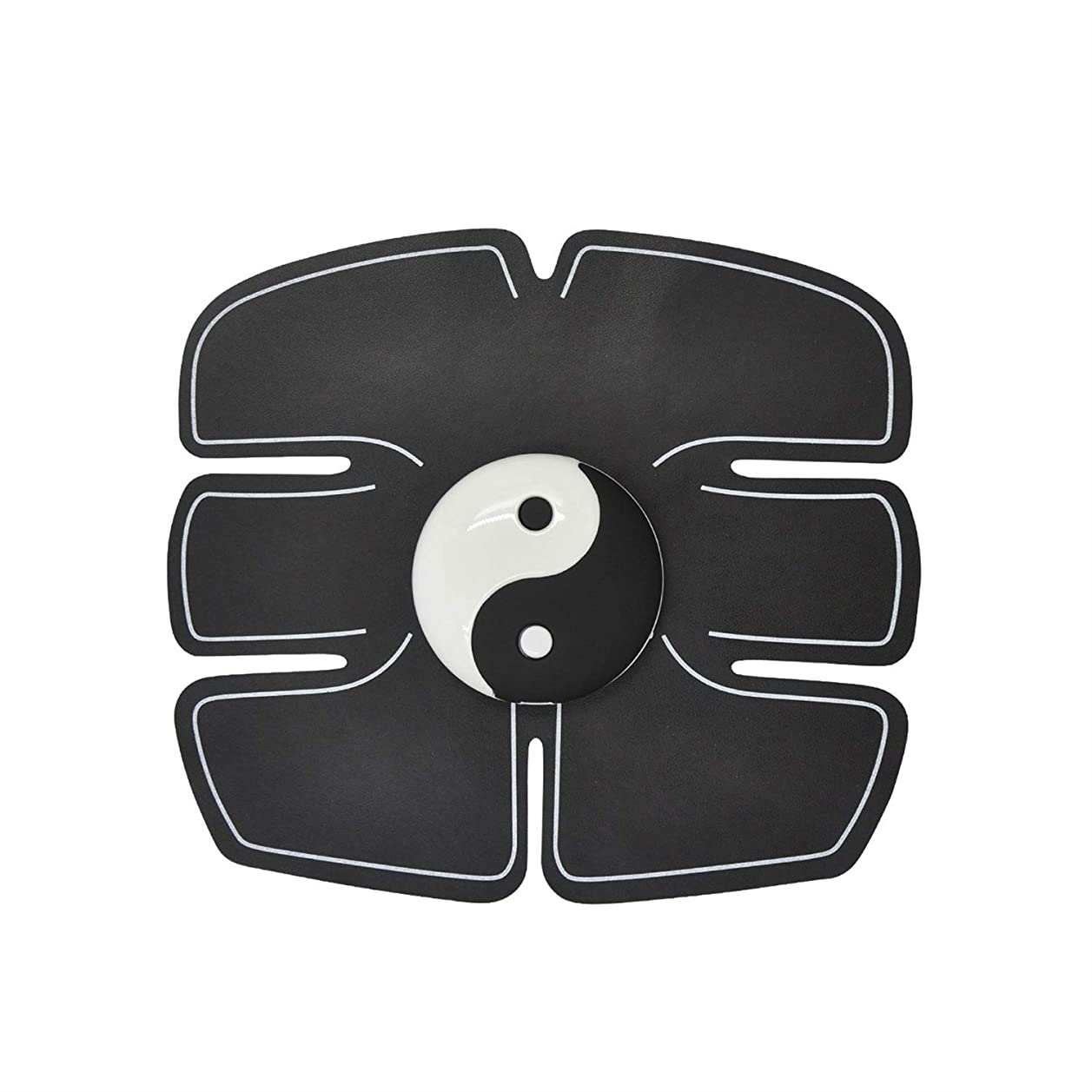バー精査放置Ems筋肉刺激装置、腹部筋肉トナー腹筋トレーナーフィットネストレーニングギアabsフィット重量筋肉トレーニング調色ジムトレーニングマシン用男性&女性 (Size : Abdominal stickers)