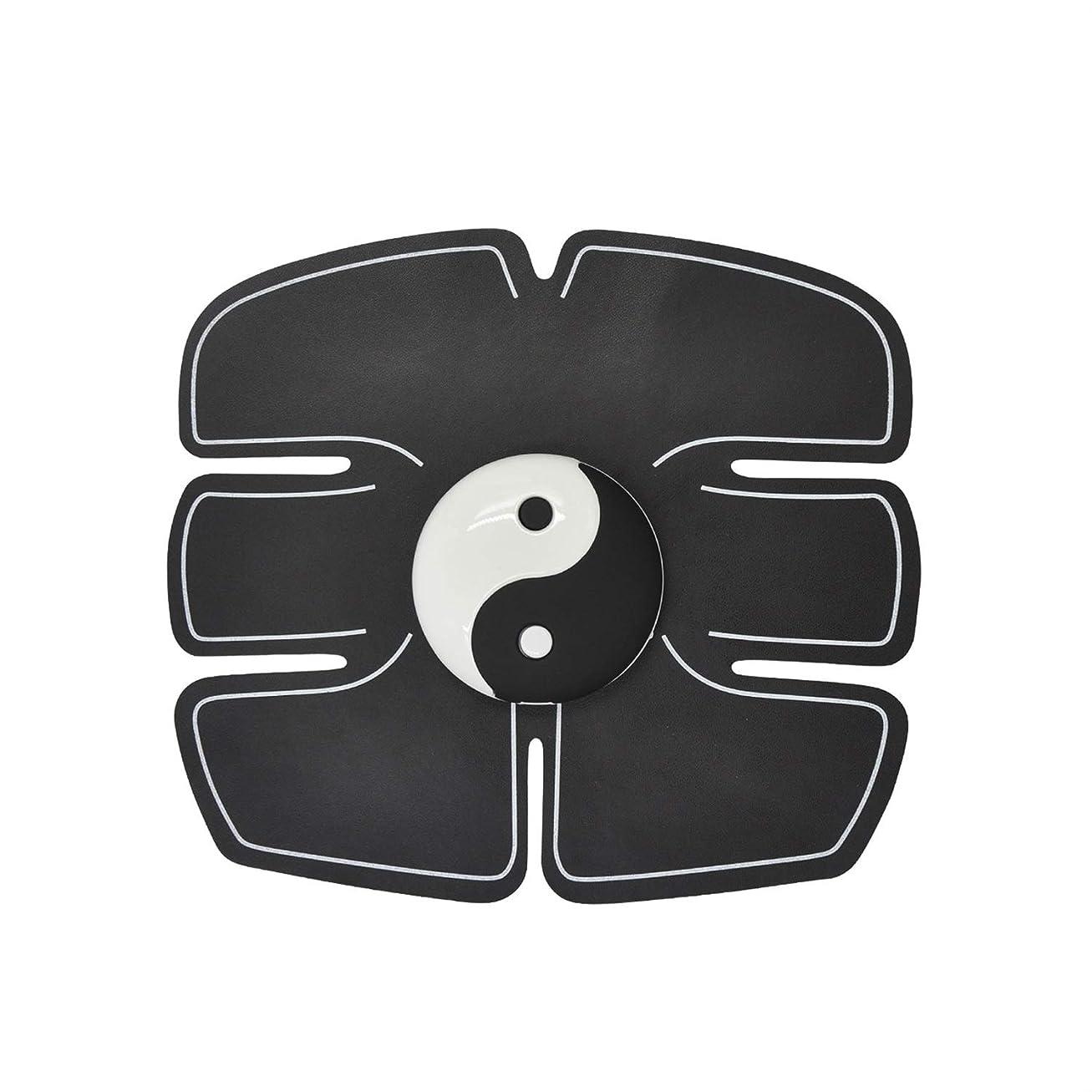 組立好意モトリーEms筋肉刺激装置、腹部筋肉トナー腹筋トレーナーフィットネストレーニングギアabsフィット重量筋肉トレーニング調色ジムトレーニングマシン用男性&女性 (Size : Abdominal stickers)