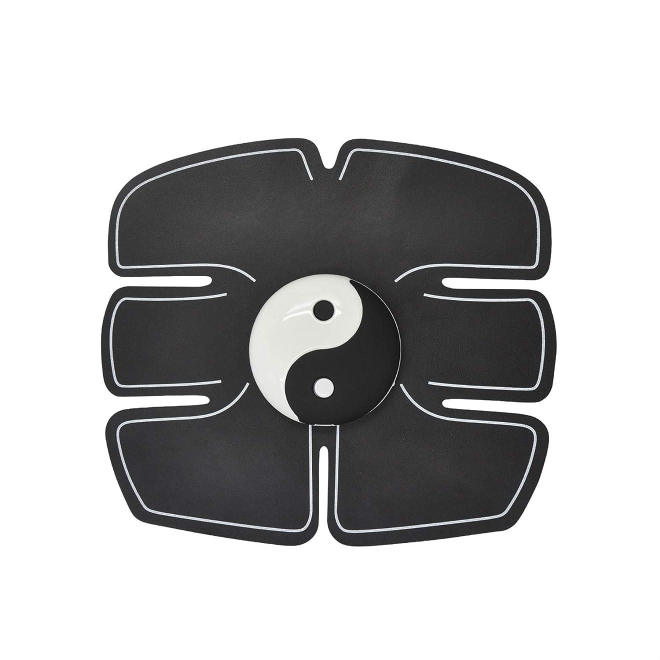 不利益ドラマ不明瞭Ems筋肉刺激装置、腹部筋肉トナー腹筋トレーナーフィットネストレーニングギアabsフィット重量筋肉トレーニング調色ジムトレーニングマシン用男性&女性 (Size : Abdominal stickers)