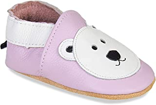 Infant Shoes Cute Bear Walking Shoes Pre Walkers 2019 Winter Warm Booties Little Kids for 6 Months Igemy Baby Boys Girls Soft Sole Shoes 4.5 Years