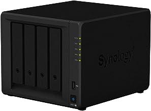 Synology DS918+ NAS Escritorio Ethernet Negro servidor de almacenamiento - Unidad RAID (Unidad de disco duro, SSD, M.2, SATA, 2.5/3.5