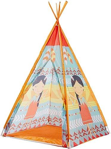encuentra tu favorito aquí HSRG Kids Teepee Play Tent Playhouse Clásico Estilo Estilo Estilo Indio Juega Carpa y Bolsa de Transporte para Niños en el Interior al Aire Libre  de moda