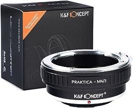 [正規代理店]K&F プラクチカ Praktica Bマウント-m4/3マイクロフォーサーズ レンズクロス付 pb-m43 (KFM43)