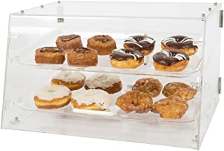Premier Choice by 1Dealz, 2 Tray Bakery Display Case with Front and Rear Doors Length: 21