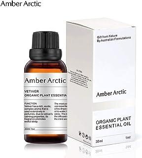 ベチバーエッセンシャルオイル30ML - 100%ピュアベストエッセンシャルオイル、ディフューザー用天然アロマセラピーオイル