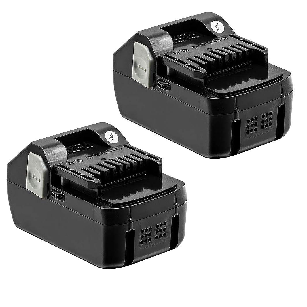 知恵それによって内向き日立 18v バッテリー BSL1860 互換バッテリー18v 6000mAh BSL1830 BSL1840 BSL1850 BSL1860 対応バッテリー 2個セット 付き1年保証