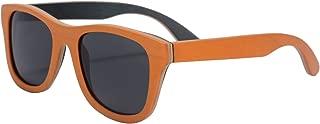 Polarized Wooden Sunglasses Skateboard Wood Summer Glasses UV400 Protection Outdoor Sports Sunglasses-SG68004
