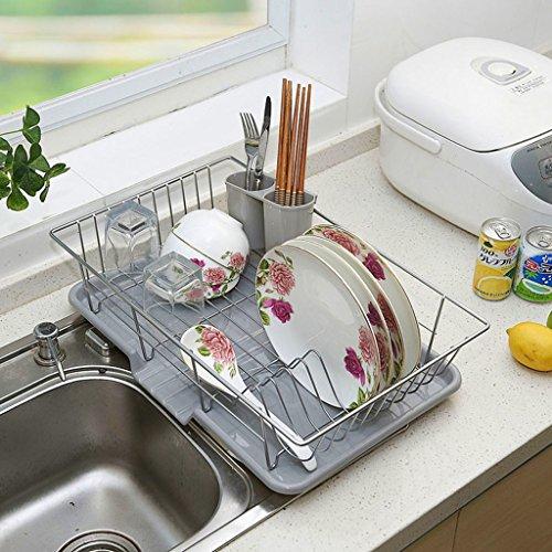 William 337 Bowl Shelf Armoire Drain Rack Metal Grands Plateaux De Cuisine Tablette De Cuisine Baguettes Air Mettre Cadre Drain Bowl Cadre 48 * 30 * 11CM (Edition : B, Taille : 48 * 30 * 11CM)