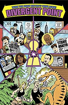 Divergent Point | Comics and Graphic Novels: Comics and Graphic Novels Meet Time Travel! by [Adam Carson, Ian Miller]