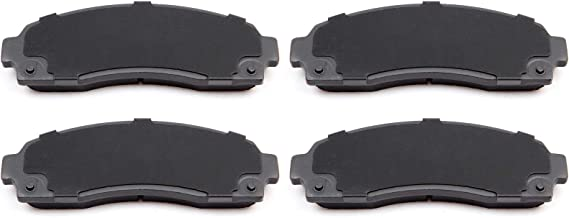 cciyu Professional Ceramic Disc Front Pads Set fit for Ford Explorer,Ford Explorer Sport Trac,Ford Ranger,Mazda B2300,Mazda B3000/B4000,Mercury Mountaineer