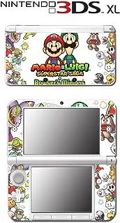 Mario Luigi Superstar Saga Bowser's Minions Video Game Vinyl Decal Skin Sticker Cover for Original Nintendo 3DS XL System