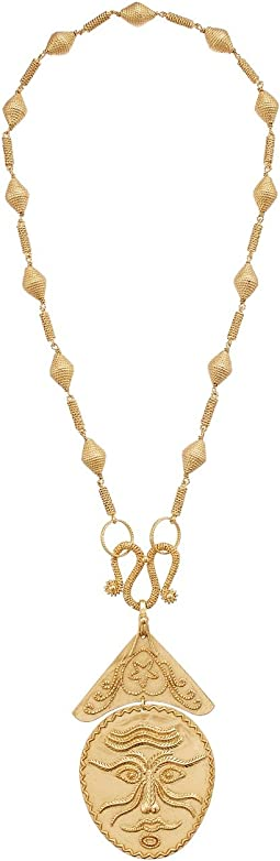 Tory Burch - Sculptural Face Statement Necklace