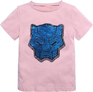 581fef4a4 Daringjourney Camiseta de Manga Corta de Dibujos Animados de bebé Camiseta  Deportiva de algodón Camiseta de