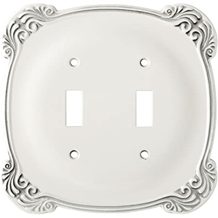 3.15 x 0.24 x 4.88 inches Single Duplex Wall Plate 3 Pack