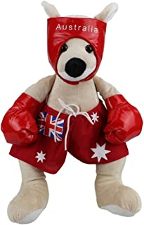RealAus Souvenirs Boxing Kangaroo Red Stuffed Animal 16