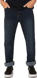Volcom Men's Kinkade Mens Jean Cotton Polyester Elastane Blue