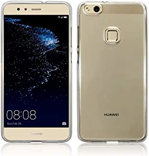 Silicone Back Case Cover By Ineix  For Huawei P10 Lite - Clear