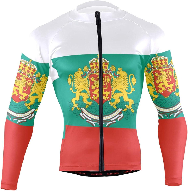 promo code 2aec9 34764 Jersey Cycling Men's Long Suit Emblem National Flag Bulgaria ...