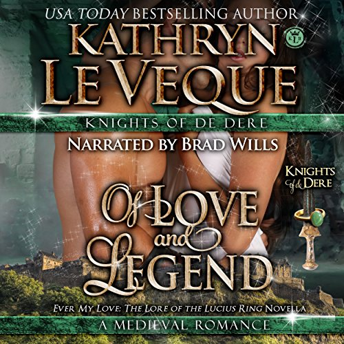Of Love and Legend audiobook cover art