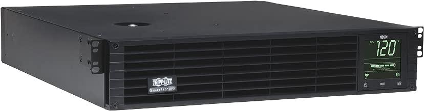 Tripp Lite 3000VA Smart UPS Back Up, Sine Wave, 2880W Line-Interactive, 2U Rackmount, Extended Run Option, LCD, USB, DB9 (SMART3000RMXL2U)