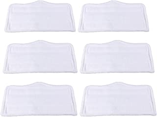 BettaWell Heavy Duty Replacement Steam Mop Pads Compatible with Shark Steam and Spray Mop S3101, S3102, S3250, S3251, SK115, SK140, SK141, SK435CO, SK460 SS460WM (Pack of 6)