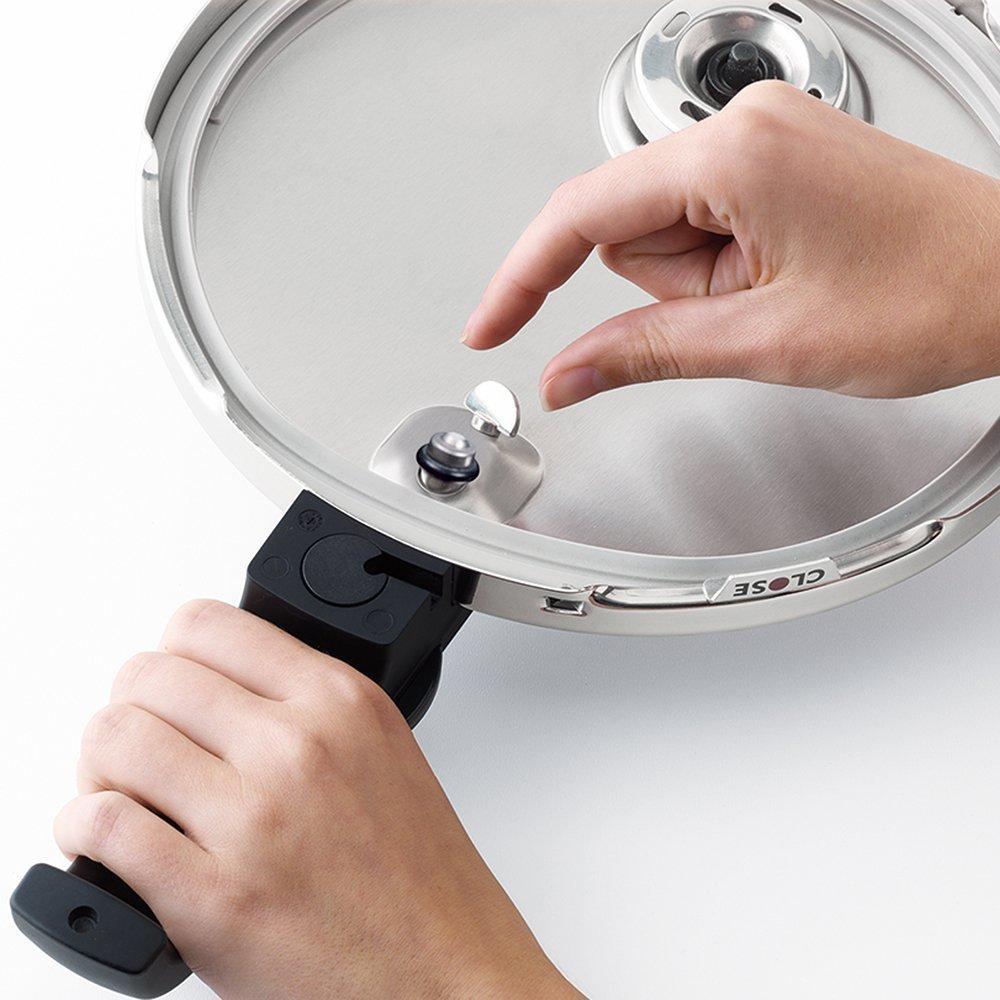 Fissler vitaquick / Olla a presión (10 litros, Ø 26 cm) acero ...