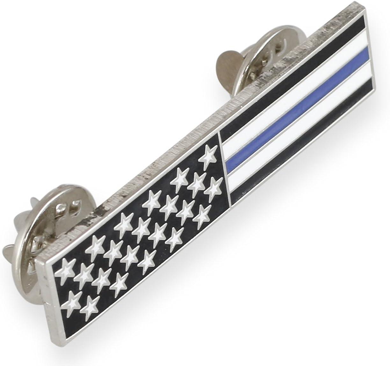 Forge Sales Translated Thin Blue Line American Flag Stripes Uniform Bar + Stars P