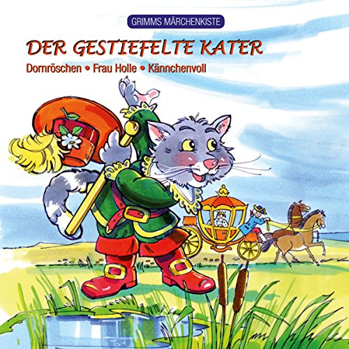 Couverture de Grimms Märchenkiste - Der gestiefelte Kater