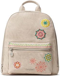 Desigual Womens PU Backpack Mini, Brown, Medium