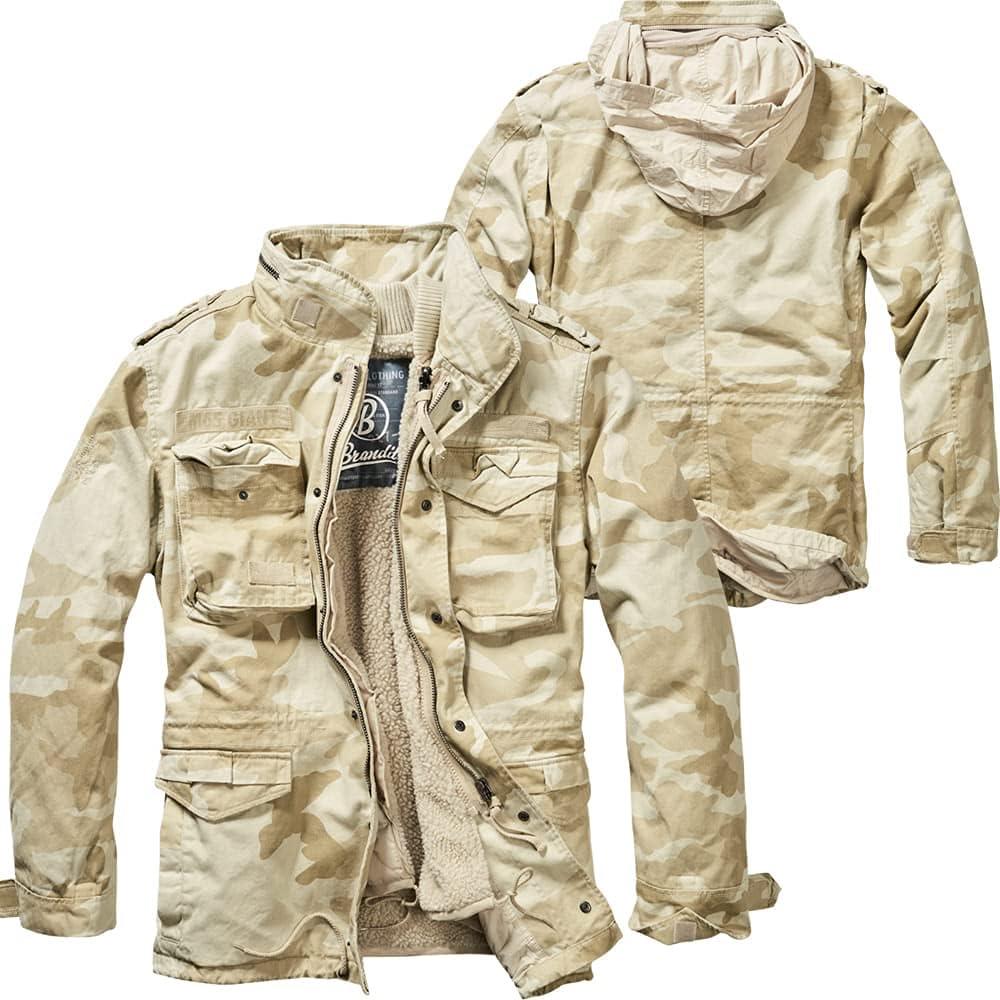 Brandit Winter Jacket M65 Giant, Color:Sandstorm, Size:6XL