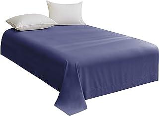 STRATO Bedding Parure de lit 3 pièces en microfibre (drap plat, drap-housse et taie d'oreiller) pour lit simple – Facile ...