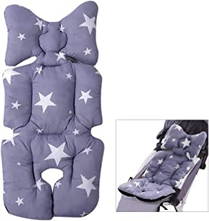 NIBESSER Universal Kinderwagen Sitzauflage,Babyschale Sitzauflage,Kinderwagen Buggy Kindersitz,Kinderwagen Sitzauflage Universal,Baby Sitzkissen Kinderwagen,Baby Sitzauflage Universal