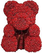 Deal Deals Rose Teddy Bear Cute Love Bear (Red)