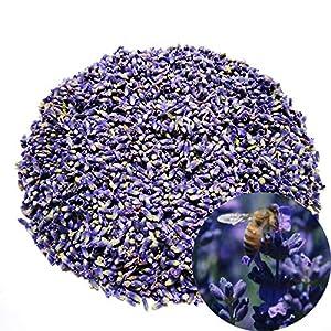 TooGet Naturales Flores de Lavanda Secas Grado Adicional Flor Azul Ultra Lavanda Vacío-Packed – 225g