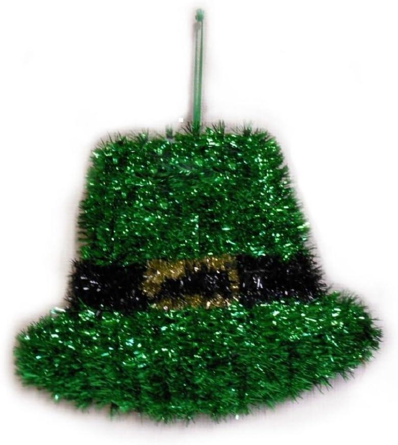 IRISH PRIDE St Patricks Day Max 73% OFF Hanging Hat Deluxe Leprechaun Tinsel Sale