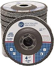 "Box of 10 CGW Premium Flap Wheel Sanding Disc 5//8/""x5//8/""x1//4/"" Grit 60 A//O-FIRM"