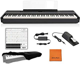 Yamaha Keyboard P45 Black 88 Weighted Keys Digital Piano Bun