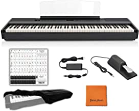 Yamaha Keyboard P45 Black 88 Weighted Keys Digital Piano Bun