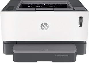 HP Neverstop Laser 1001nw - Impresora Multifunción (20 ppm A4, WiFi, Copiar, Escanear, USB), Color Blanco, 38 x 29.3 x 21.1 cm