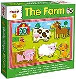 Lisciani 49899–Puzzle de Madera The Farm