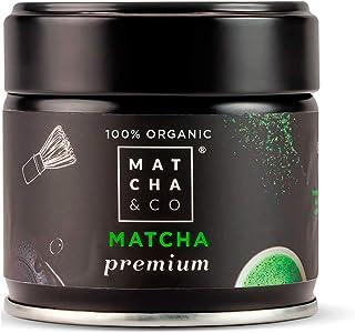 Matcha Premium 100% Ecológico | Té verde en polvo Orgánico de Japón | Té Matcha de grado ceremonial premium BIO | Matcha &...